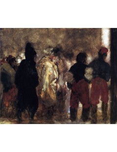 Tytuł: French Prisoners of War on the March, Autor: Adolph Menzel