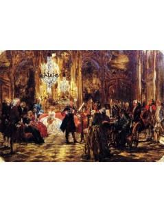 Tytuł: The Flute Concert at Sanssouci (sketch), Autor: Adolph Menzel