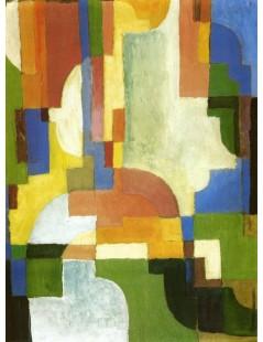 Tytuł: Colored Forms I, Autor: August Macke
