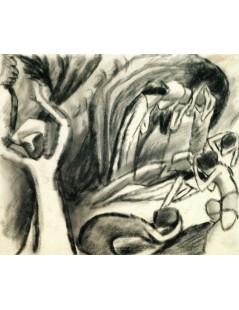 Tytuł: Grieving Woman, Autor: August Macke