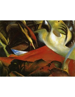 Tytuł: The Storm, Autor: August Macke