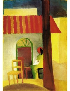 Tytuł: Turkish Cafe I, Autor: August Macke