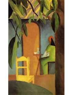 Tytuł: Turkish Cafe II, Autor: August Macke