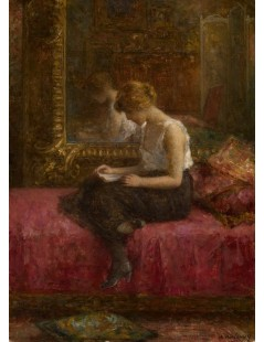 Tytuł: Literary Pursuits of a Young Lady, Autor: Alexei Harlamoff