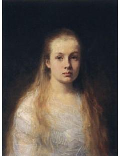 Tytuł: Portrait of a Girl, Autor: Alexei Harlamoff