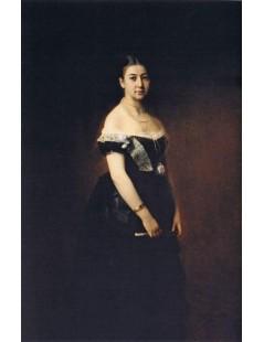 Tytuł: Portrait of E. A. Tretyakova, Autor: Alexei Harlamoff