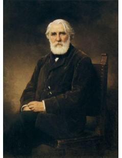 Tytuł: Portrait of Writer Ivan Turgenev, Autor: Alexei Harlamoff