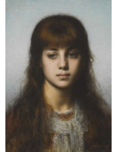 Tytuł: Study of a Girl, Autor: Alexei Harlamoff