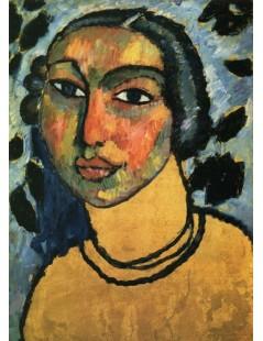 Tytuł: A Jewish Maiden, Autor: Alexei Jawlensky