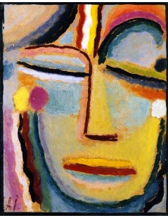 Tytuł: Abstract Head, Autor: Alexei Jawlensky