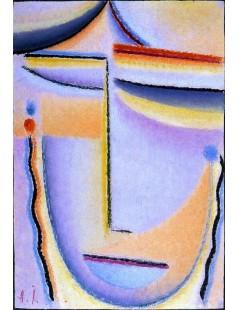 Tytuł: Abstract Head Bright Sound, Autor: Alexei Jawlensky