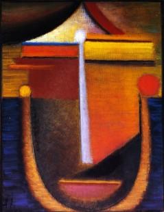 Tytuł: Abstract Head Composition No. 10, Autor: Alexei Jawlensky