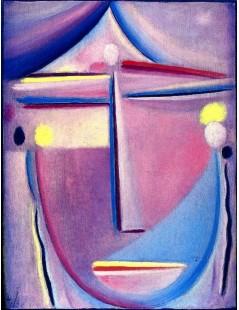 Tytuł: Abstract Head Contemplation, Autor: Alexei Jawlensky