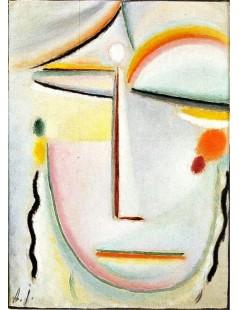 Tytuł: Abstract Head Enlightenment II, Autor: Alexei Jawlensky