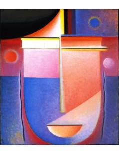 Tytuł: Abstract Head Inner Vision, Autor: Alexei Jawlensky