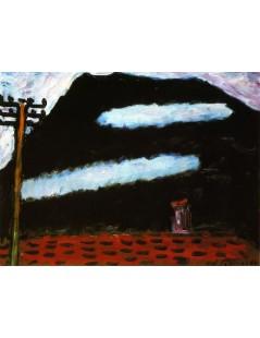 Tytuł: Two White Clouds, Autor: Alexei Jawlensky