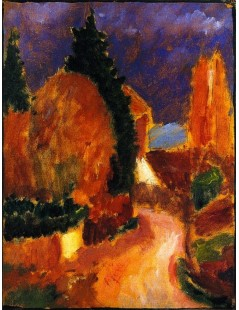 Tytuł: Variation The Road, Mother of All Variations, Autor: Alexei Jawlensky