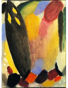 Tytuł: Variation Towards the Light, Autor: Alexei Jawlensky