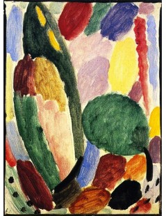 Tytuł: Variation When the Lark is Singing, Autor: Alexei Jawlensky