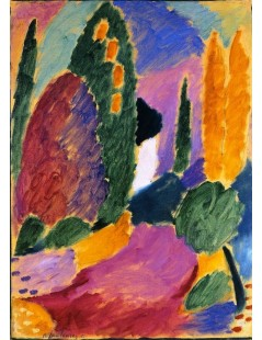 Tytuł: Variation Whitsun Morning (Sunday Group), Autor: Alexei Jawlensky