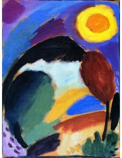Tytuł: Variation with Sun, Autor: Alexei Jawlensky