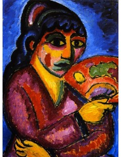 Tytuł: Woman from Turkestan, Autor: Alexei Jawlensky