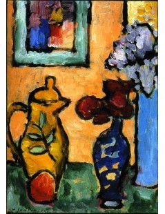 Tytuł: Yellow Coffee Pot, Autor: Alexei Jawlensky