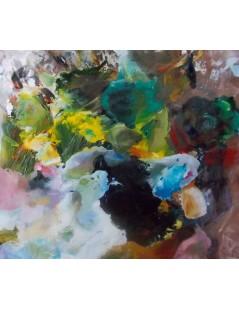 Tytuł: Abstrakcja kruk, Autor: Emilia Czupryńska