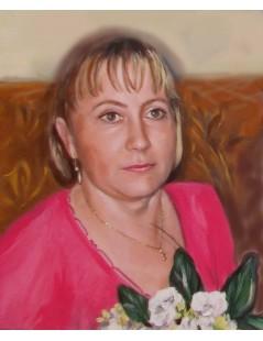 Tytuł: Portret kobiecy, Autor: Emilia Czupryńska