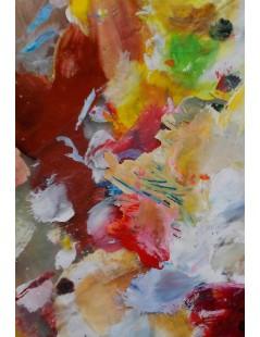 Tytuł: Abstrakcja do salonu, Autor: Emilia Czupryńska