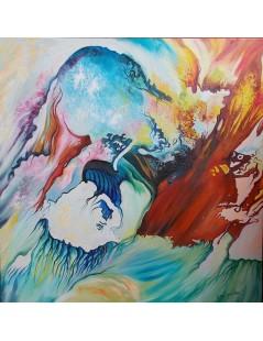 Tytuł: Abstrakcja Spełnienie II, Autor: Emilia Czupryńska
