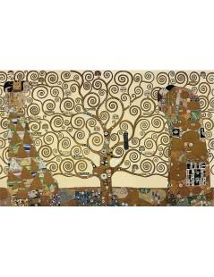 Tytuł: Drzewo życia - tryptyk - Oczekiwanie, Spełnienie, Autor: Gustav Klimt