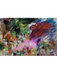 Tytuł: Abstrakcja Euforia, Autor: Emilia Czupryńska