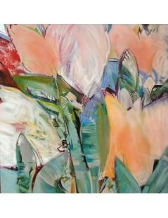 Tytuł: Obrazy olejne - abstrakcja Tulipanowa, Autor: Emilia Czupryńska