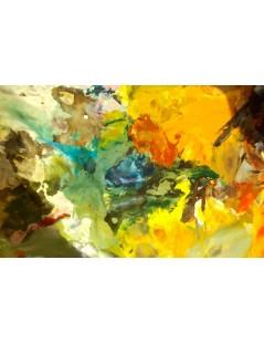 Tytuł: Kompozycja pustynna, Autor: Emilia Czupryńska