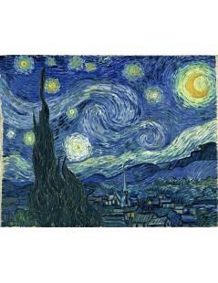Tytuł: Gwieździsta noc, Autor: Vincent van Gogh