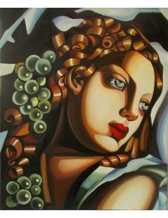 Tytuł: Olśniewająca - Dazzling, Autor: Tamara de Lempicka