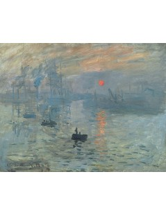 Tytuł: Impresja. Wschód słońca., Autor: Claude Monet