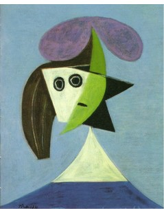 Tytuł: Woman With Hat (Olga), Autor: Pablo Picasso