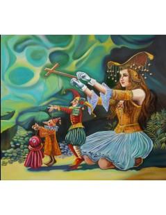 Tytuł: Alicja w krainie czarów, Autor: Emilia Czupryńska