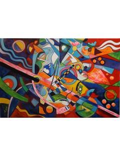 Tytuł: Wasilly Kandinsky, Improwizacja 32, Autor: Wassily Kandinsky