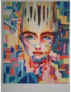 Tytuł: portret nowoczesny - obrazy olejne, Autor: Emilia Czupryńska