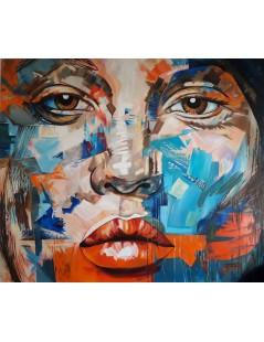Tytuł: Wielki obraz - twarz Johny Deep, portret 200x170cm, Autor: Emilia Czupryńska