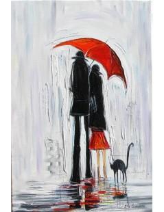 Tytuł: Czerwona parasolka, Autor: Emilia Czupryńska